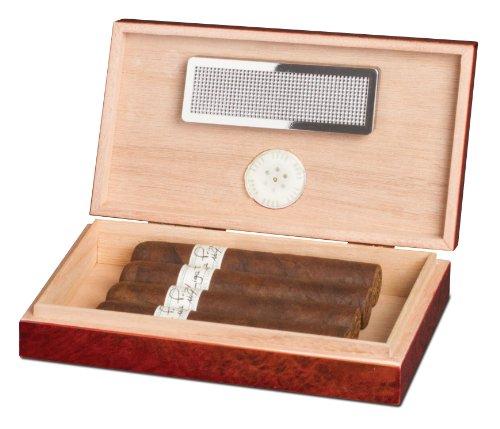 Engraved Cigar Humidor - 5