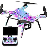 MightySkins Protective Vinyl Skin Decal for 3DR Solo Drone Quadcopter wrap cover sticker skins In Bloom