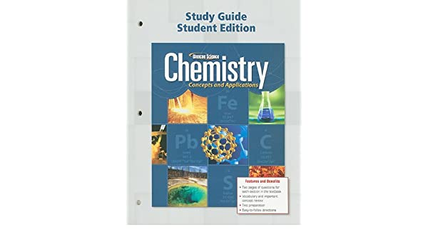 amazon com chemistry concepts applications study guide student rh amazon com chemistry concepts and applications study guide chapter 13 answers chemistry concepts and applications study guide chapter 11 answers