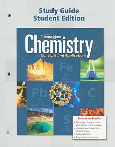 amazon com chemistry concepts applications study guide student rh amazon com chemistry concepts and applications study guide chapter 7 answers chemistry concepts and applications study guide chapter 11 answers