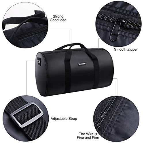 Foldable Lightweight Travel Duffle Bag, Kemladio Water Rresistant Packable Bag Luggage by Kemladio (Image #2)