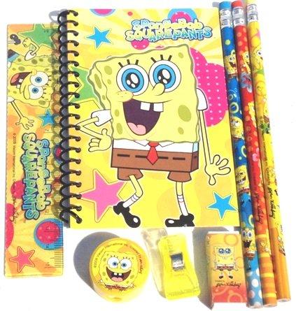 Spongebob Pencil Case and Stationary Set -Gift Set for Boys Photo #3