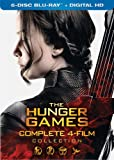 The Hunger Games: Complete 4 Film Collection [Blu-ray]