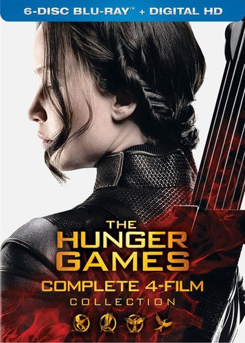 The Hunger Games: Complete 4 Film Collection (Set Games Hunger)