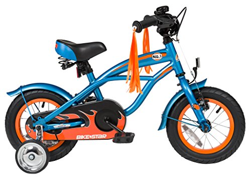 Bikestar 12 Inch (30.5cm) Kids Children Bike Bicycle – Cruiser – Blue Top Offers