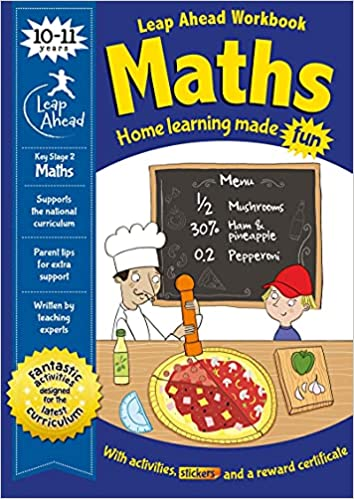 Leap Ahead: 10-11 Years Maths (Leap Ahead Workbook Expert) Paperback