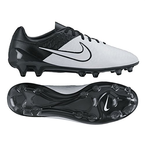 Nike Menns Magista Opus Skinn Fg Fotballsko Lys Bein Lys Bein / - Svart - Svart