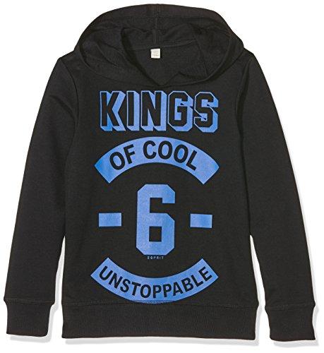Esprit Kids Jungen Sweatshirt RI1501G, Schwarz (Schwarz 001), 140/146 (Herstellergroesse: S)