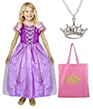 Bundle - Rapunzel dress-up set - 3 pieces (Large (5-7yrs))