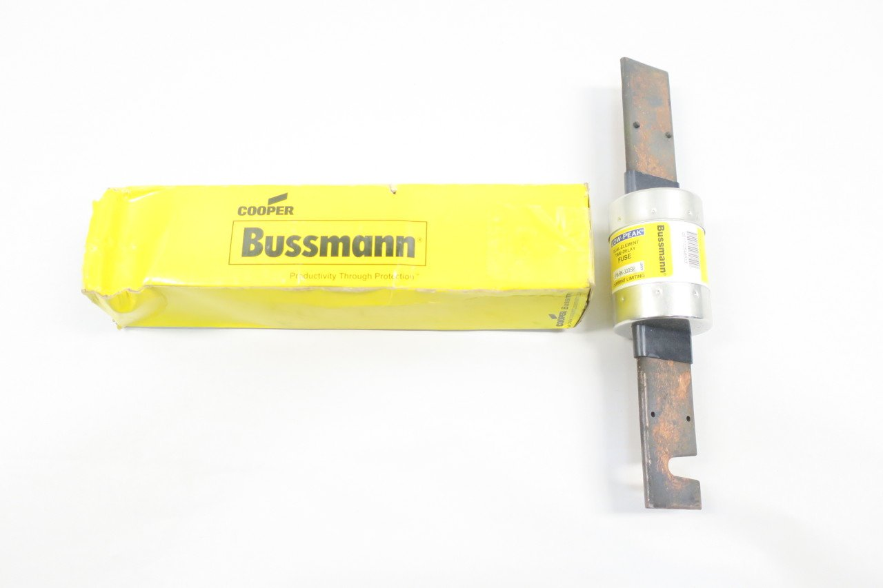 COOPER BUSSMANN LPS-RK-300SP LOW-PEAK TIME-DELAY FUSE 300A AMP 600V-AC D585476