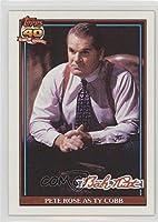Pete Rose; Ty Cobb (Baseball Card) 1991 Topps Babe Ruth NBC TV Movie - [Base] #7