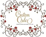 To map custom bouquets, dedicated links, custom packages, including holding flowers, brooch, bridesmaid bouquet, etc.