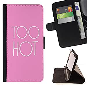 Jordan Colourful Shop - hot pink sexy pink quote chick For Apple Iphone 4 / 4S - Leather Case Absorci???¡¯???€????€????????&cen