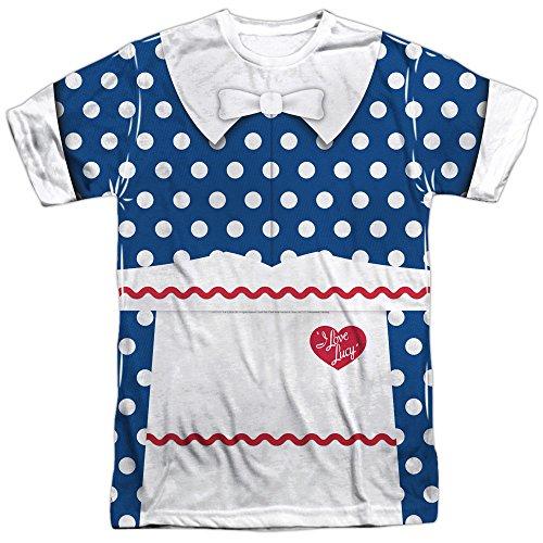 I Love Lucy- Polka Dot Costume Tee T-Shirt Size S]()