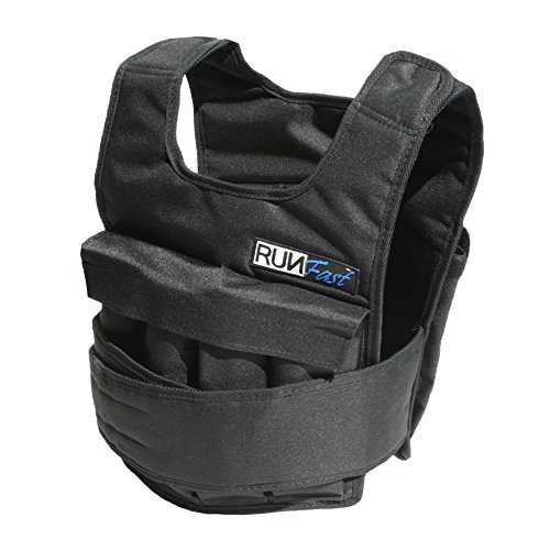 RUNmax Runfast Pro Weighted Vest, 20 lb