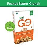 Kashi GO Peanut Butter Crunch Cereal - Vegan   Non-GMO   13.2 Oz Box