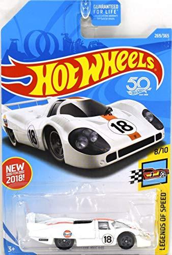 Hot Wheels 2018 Legends of Speed Porsche 917 LH 269/365, White
