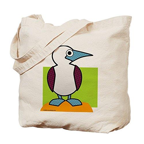 CafePress–azul footed Booby–Gamuza de bolsa de lona bolsa, bolsa de la compra