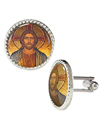 Jesus Classic Artwork Illuminated Cufflinks