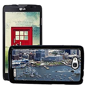 Hot Style Cell Phone PC Hard Case Cover // M00171515 Norfolk Virginia Buildings Skyline // LG Optimus L90 D415