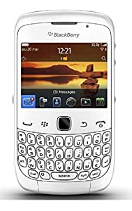 Blackberry Curve 9300 3G Unlocked GSM Phone with 6 OS, 2MP Camera, GPS, Bluetooth and Wi-Fi - White