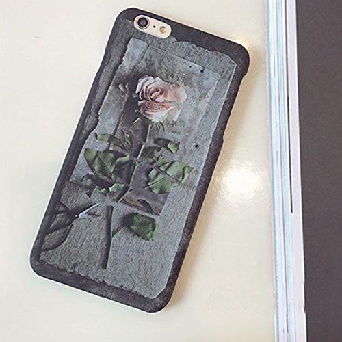Phone Case & Hülle Für iPhone 6 Plus & 6s Plus Rosenmuster Matt Schützende Rückseite Hülle