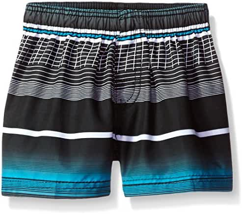 Kanu Surf Baby Boys' Sprint Stripe Swim Trunk