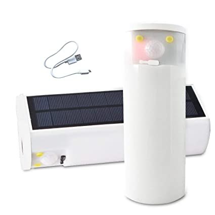 Amazon.com: CREATESTAR Luz Solar de Camping, 30 LED SMD 2835 ...