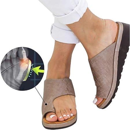 Sandales Femme Plates Plateforme Tongs Flip Flop Chaussure Causal Confortable Chaussons Chaussures De Sandale De Plate Forme De Soutien D'hallux