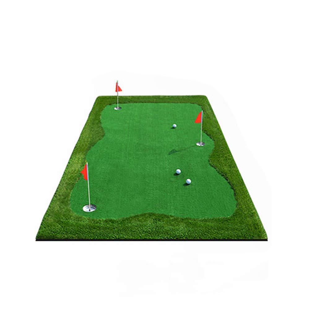 LTS ゴルフマットプレミアム住宅裏庭ゴルフトレーニング練習打撃マット ゴルフマット B07PNV282F  2*4m