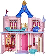 Disney Princess Fashion Doll Castle, Dollhouse 3.5 feet Tall with 16 Accessories and 6 Pieces of Furniture (Am