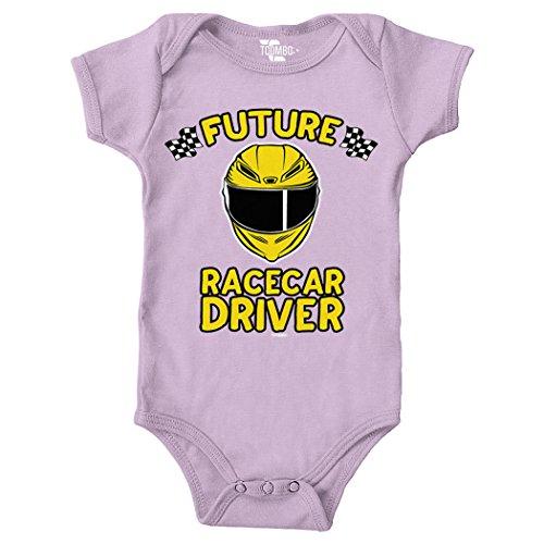 Race Car Driver Outfit (Tcombo Future Racecar Driver Bodysuit (Light Purple, Newborn))