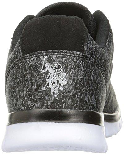 Ons Polo Assn. Dames Dames Isabel-hj Fashion Sneaker Zwart
