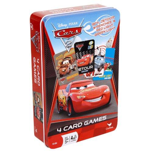 cars spy card game - 3