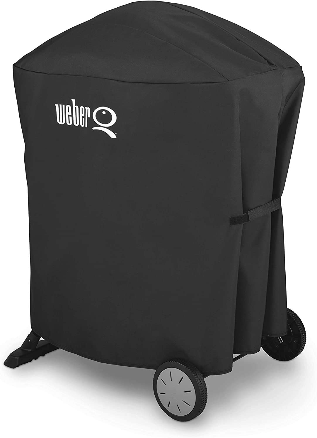 Grill Cover 7113 for Weber Q 100/1000 and Q 200/2000 Grills with The Q Portable cart,(32.28 x 17.32 x 35.04 inches)