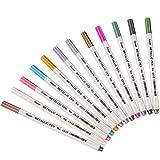 Sunshilor Fine Metallic Markers Paint Pens