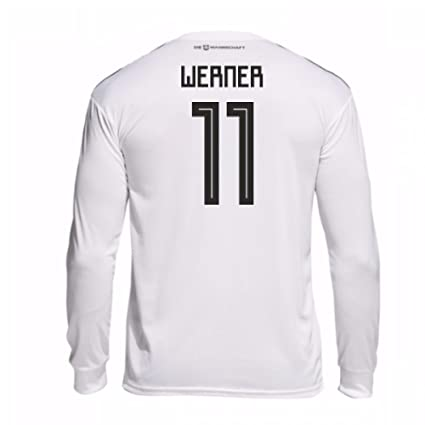 a0599a01ba6 Image Unavailable. Image not available for. Color  2018-19 Germany Home  Long Sleeve Football Soccer T-Shirt ...