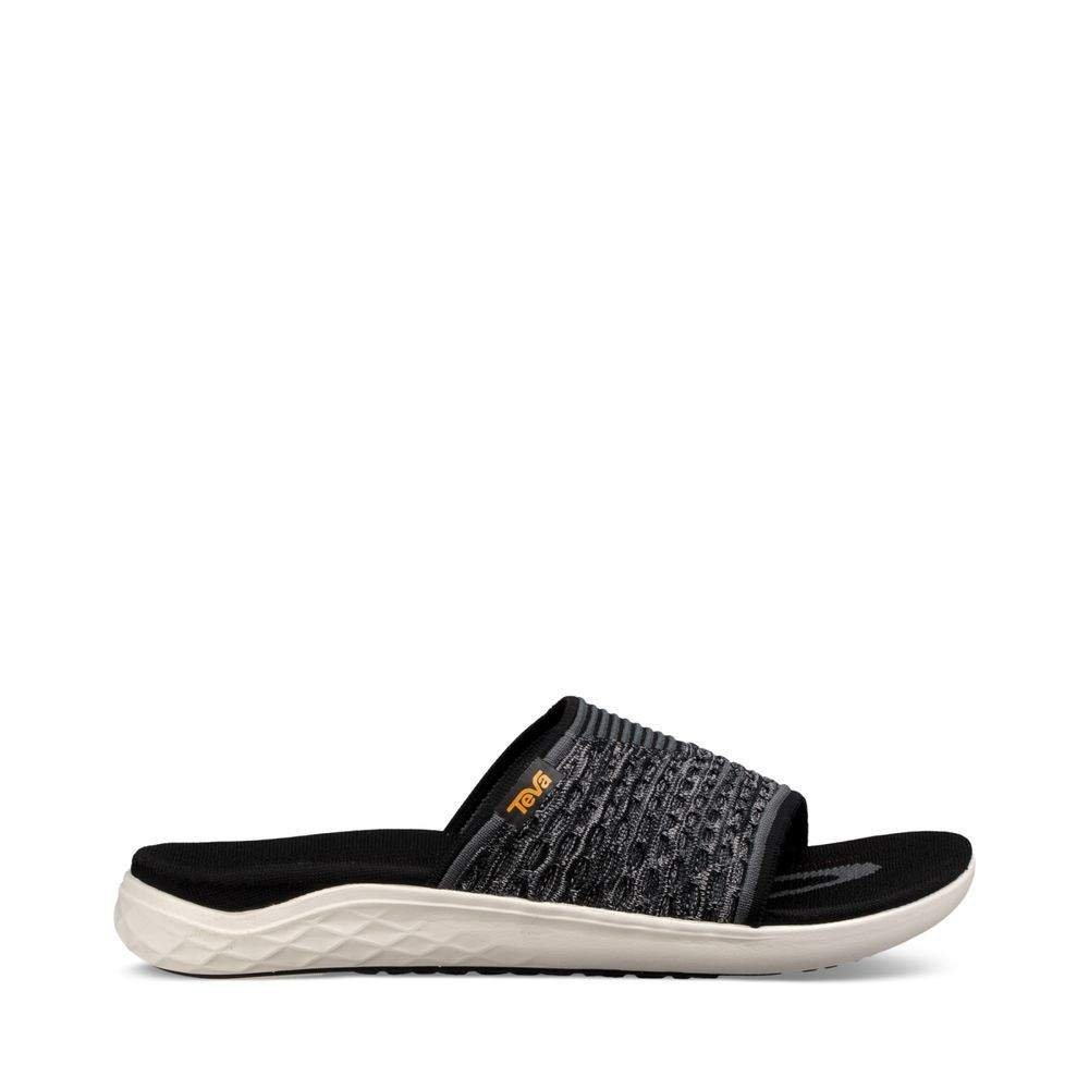 Teva - Men's Terra-Float 2 Knit Slide - Black - 12