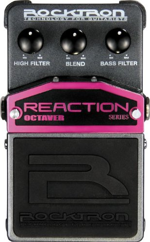 Rocktron Reaction Octaver Effect Pedal by Rocktron