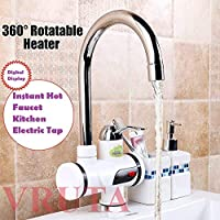 Sonani 360° Rotatable Digital Display Instant Heating Electric Water Heater Faucet Tap