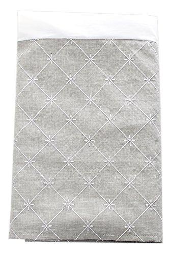 Glenna Jean Starlight Queen Skirt, Grey Embroidery/Metallic Sliver