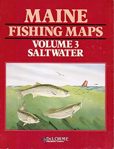 Maine Fishing Maps: Saltwater