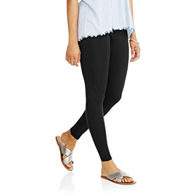 a2697aea311 Faded Glory Women s Essential Leggings at Amazon Women s Clothing store