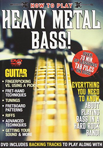 Guitar World -- How to Play Heavy Metal Bass!: Everything You Need to Know About Playing Bass in a Hard Rock Band! (DVD)