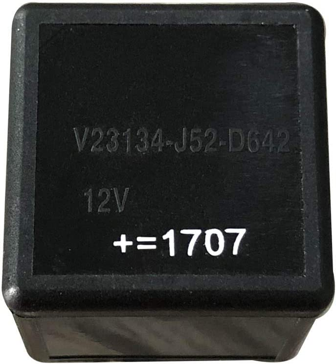 4 Prong Automotive Relay V23134-B52-C642 SPNO Plug In Non-Latching Relay 40A Coil DC Car Van
