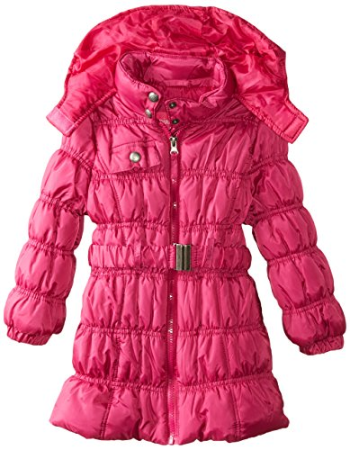 Fuchsia Platinum Long Coat Girls' Puffer Pink d4X8wqBFF