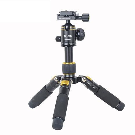 xiletu fm5s-mini trípode de mesa y Rótula de bola para cámaras ...