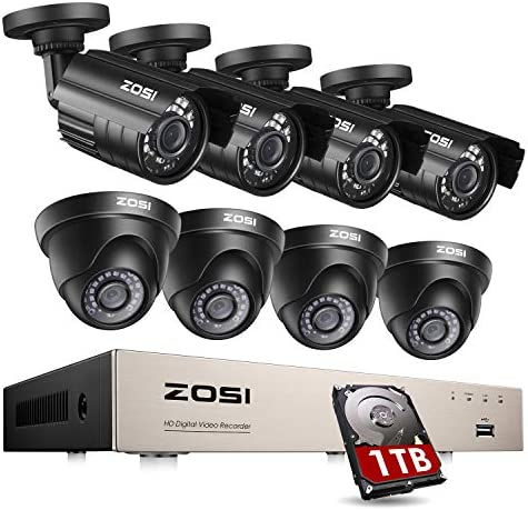 ZOSI Security Camera System Outdoor