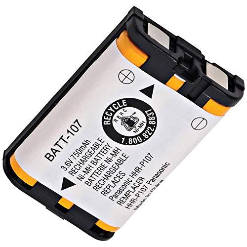 Dantona 3.6V Battery KX-TG3000/6000, HHR-P107