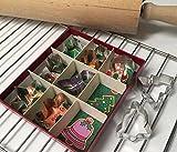 Fox Run 9-Piece Christmas Cookie Cutter Set